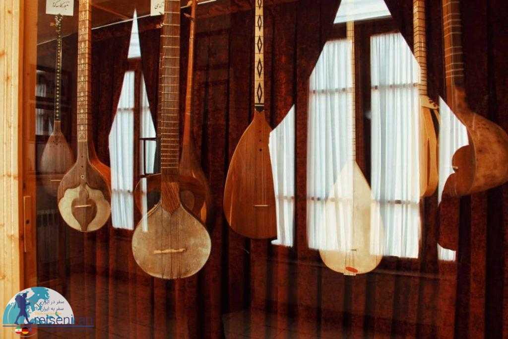سازهای ایرانی موزه موسیقی تبریز