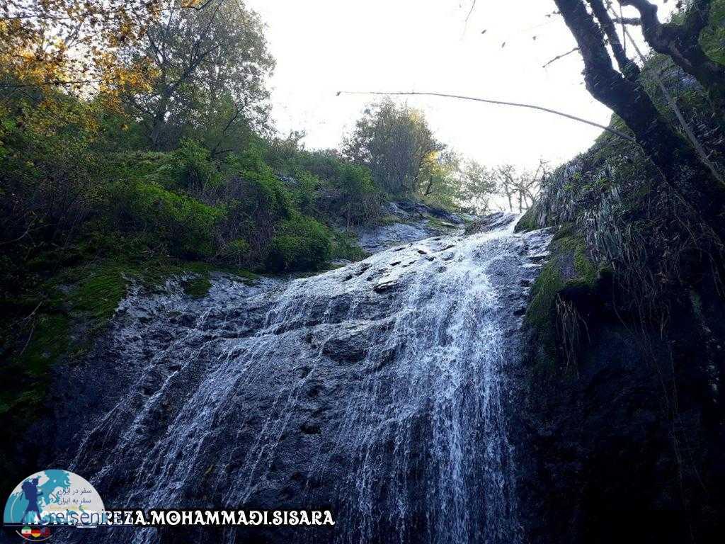 عکس آبشار سیاه تاش
