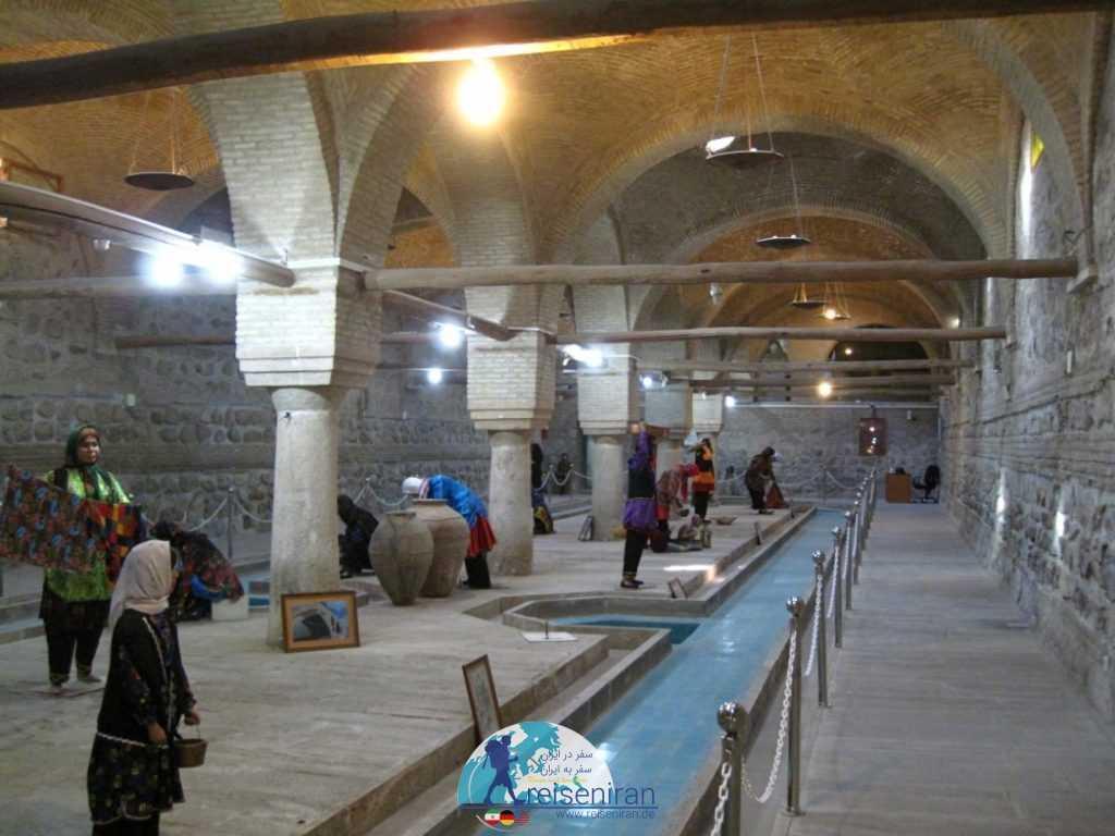 فضای داخلی رختشویخانه زنجان
