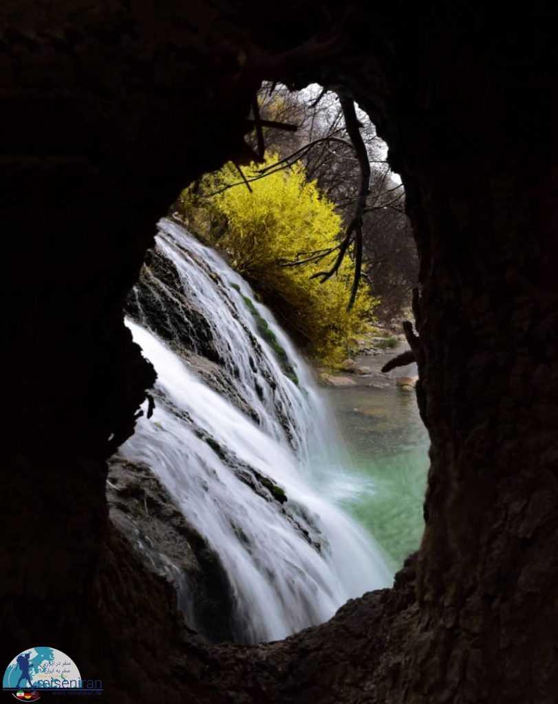 نمایی از آبشار گریت