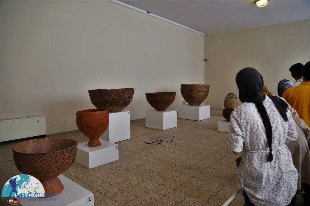 بازدید از موزه ملی ایران