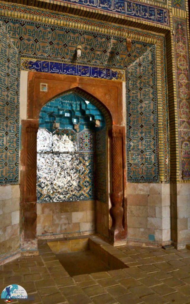 محراب مسجد عتیق شیراز