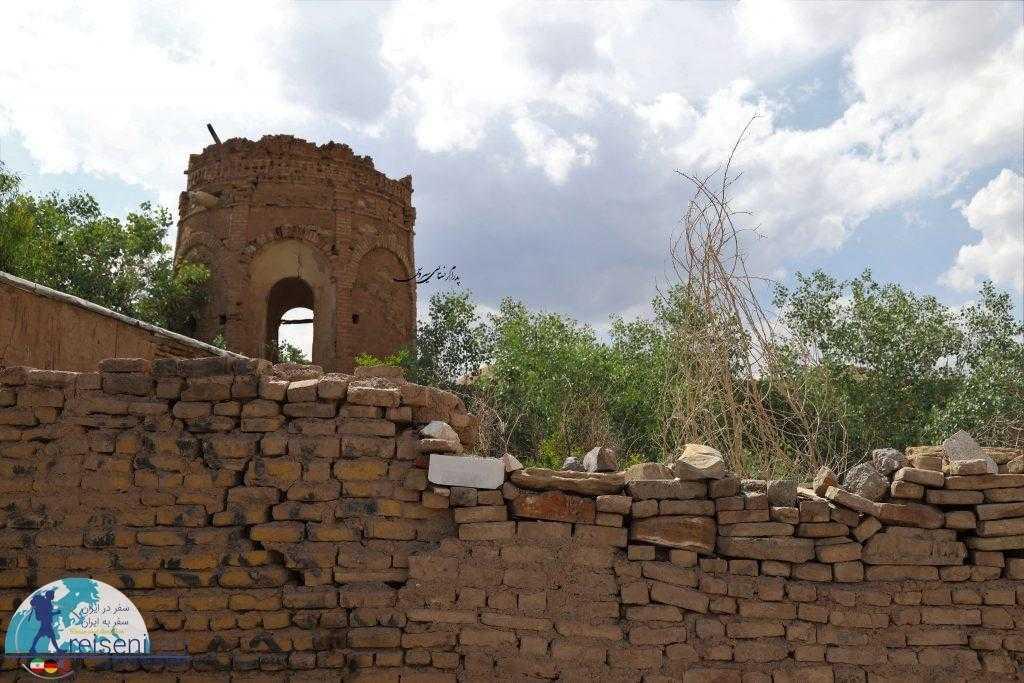 برج خرابه کوشک علی آباد