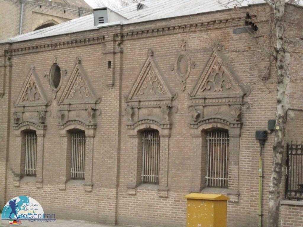 بنای موزه قزوین