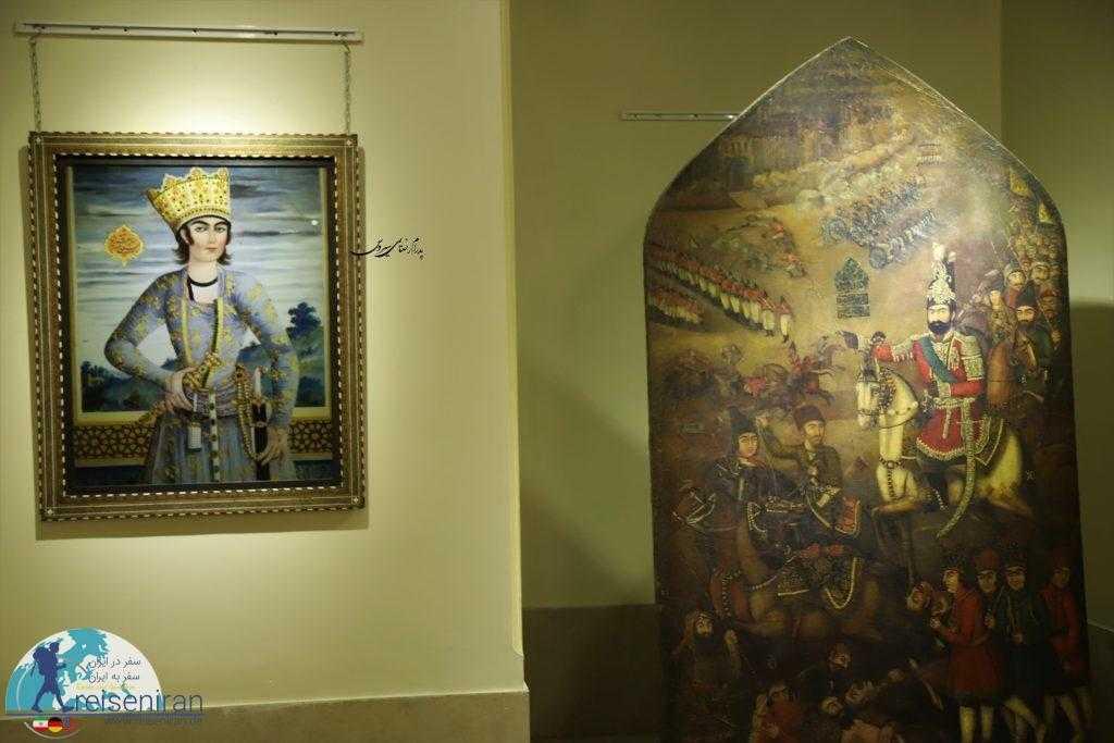 تابلو نقاشی های کاخ گلستان