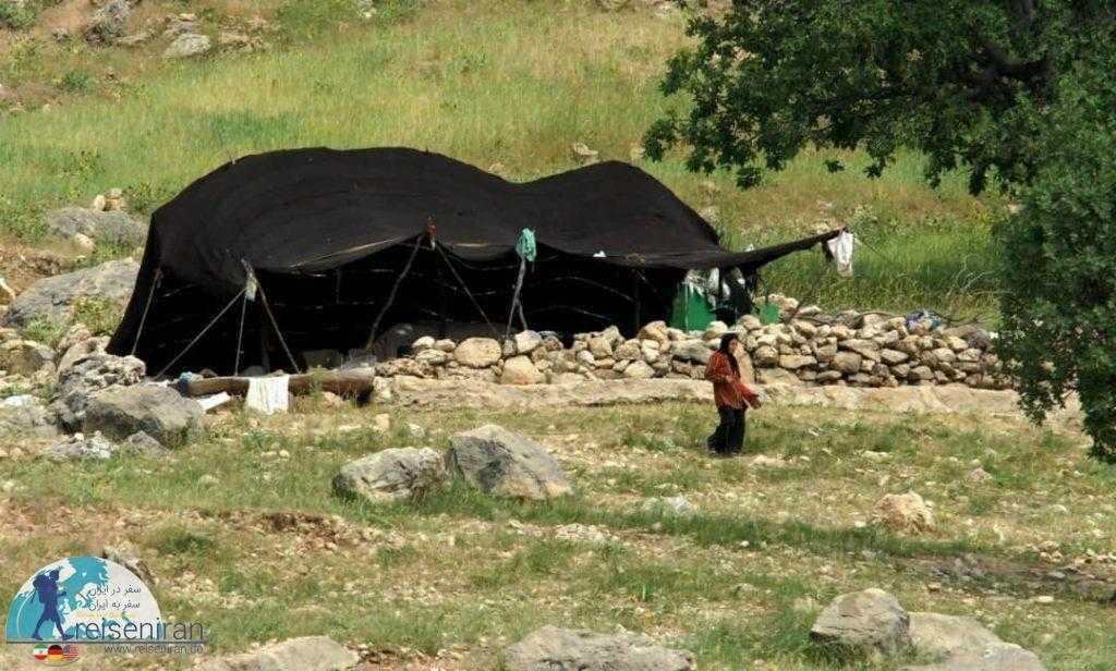 سیاه چادر عشایری بختیاری