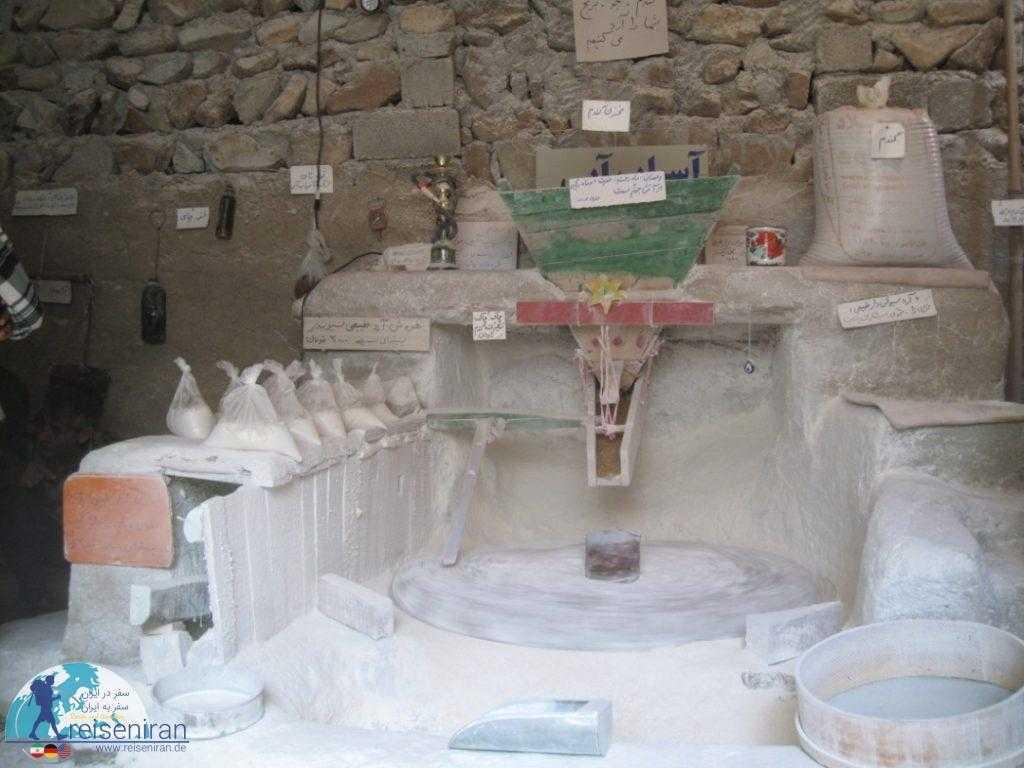 شبه موزه آسیاب خرابه
