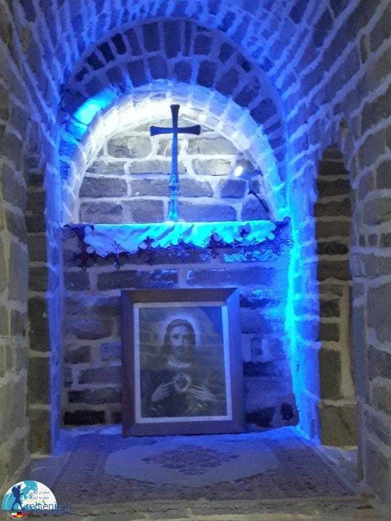 صلیب کلیسا ننه مریم ارومیه