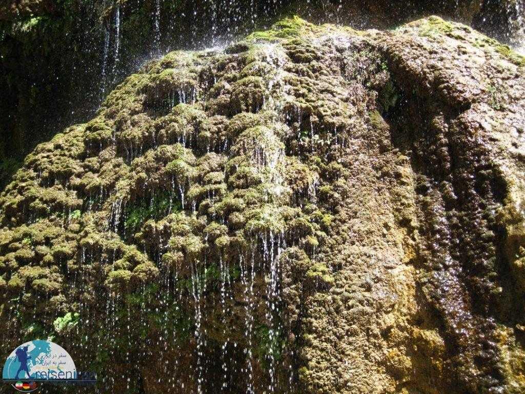 طراوت آبشار آسیاب خرابه