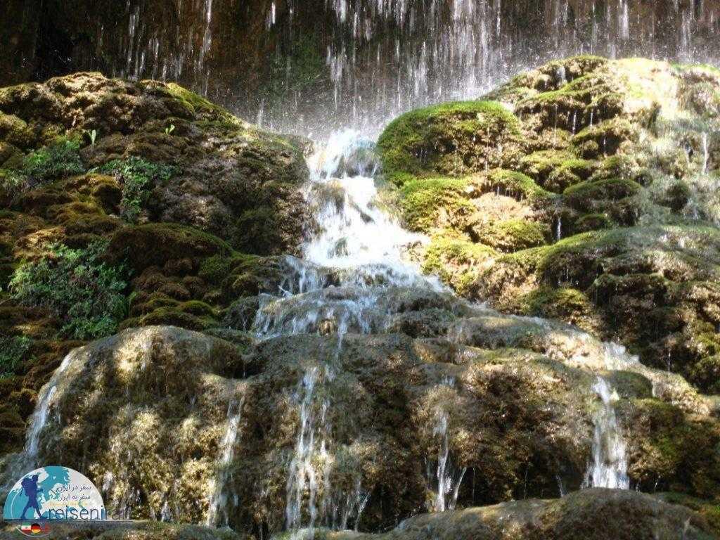 عکس آبشار آسیاب خرابه