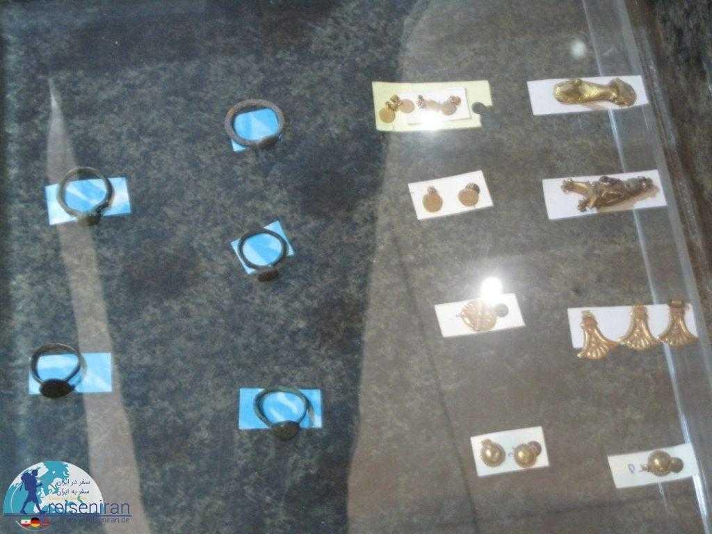 عکس آثار موزه قزوین