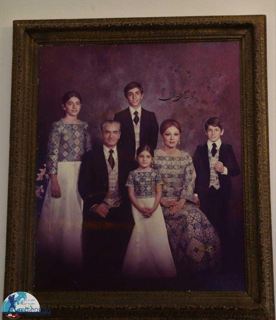 عکس خانواده محمدرضا شاه پهلوی