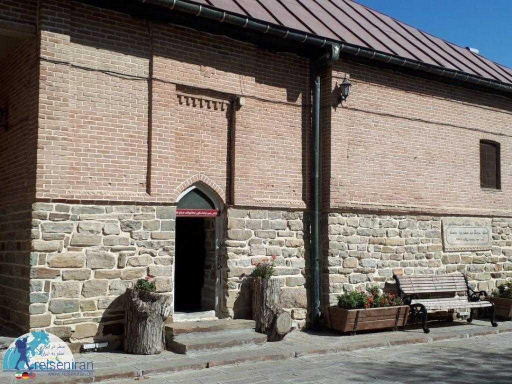 عکس دیوار کلیسای حضرت مریم ارومیه