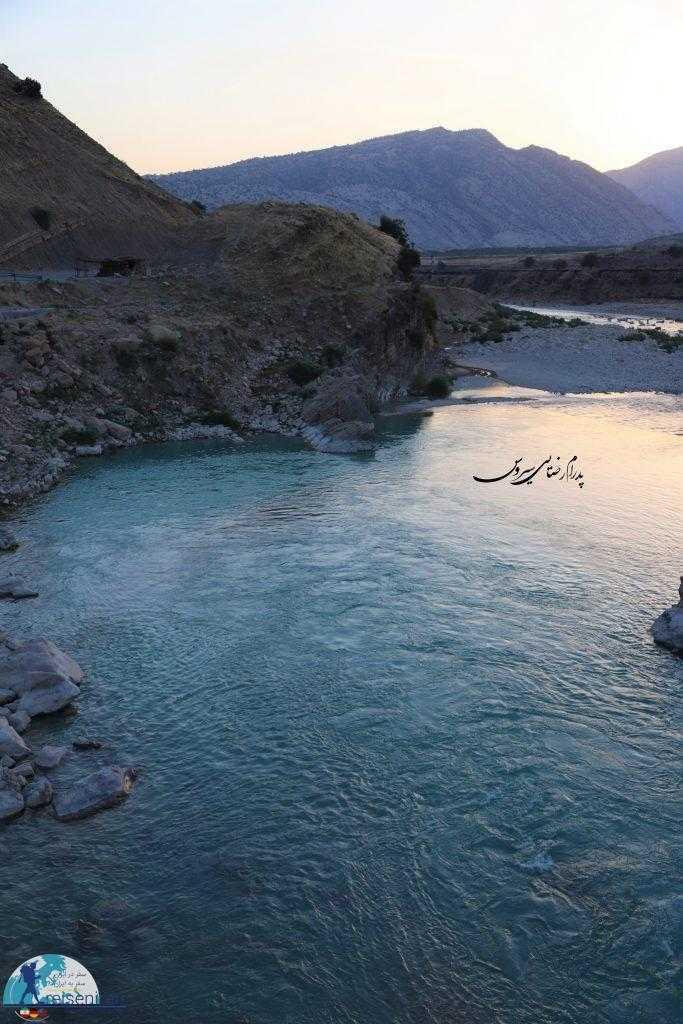 عکس رودخانه مارون