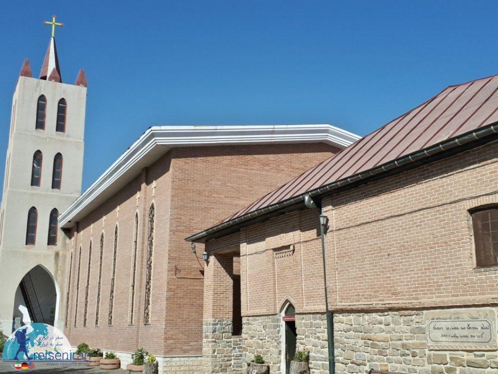 عکس کلیسای ننه مریم ارومیه