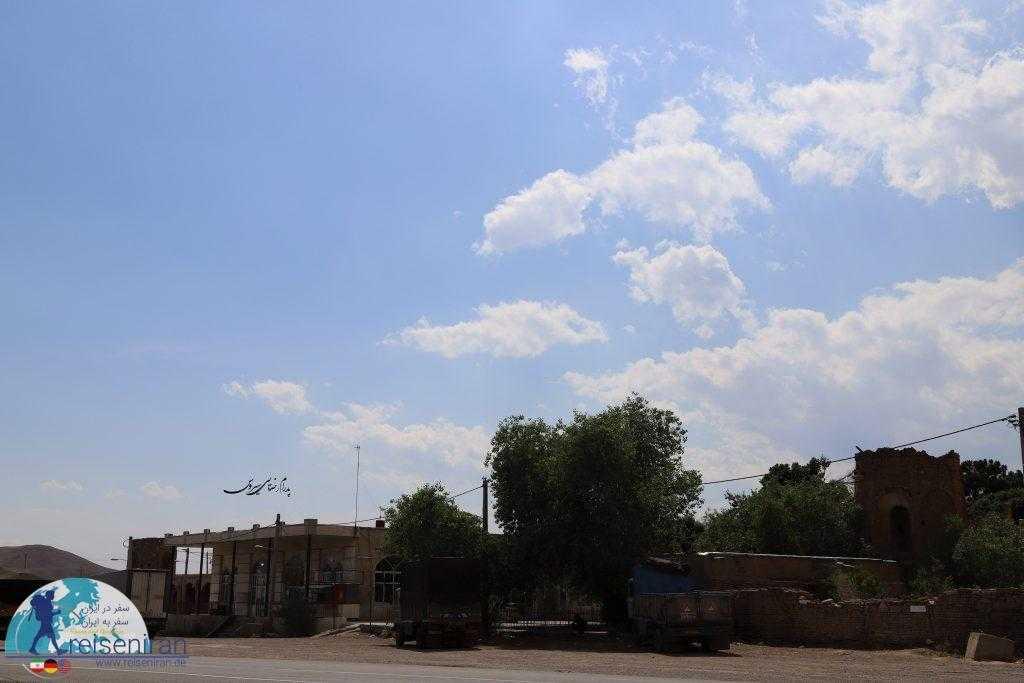 موقعیت کوشک علی آباد کنار جاده