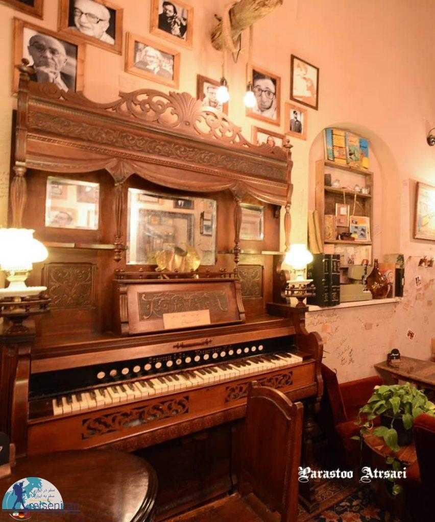 پیانو کافه ارثیه قزوین