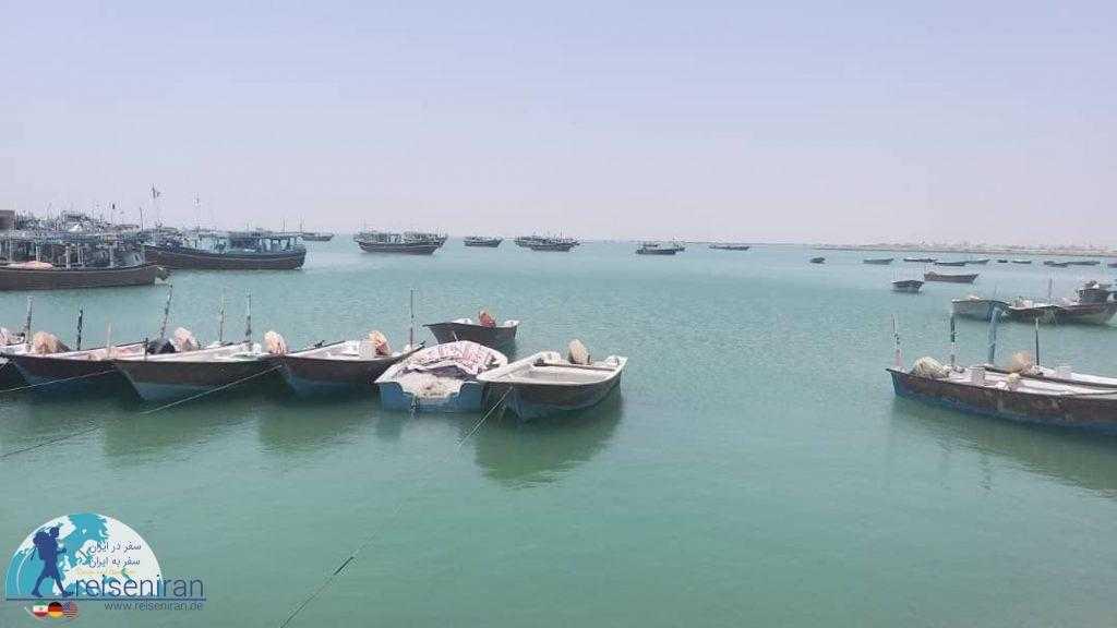 کشتی ها دریای عمان