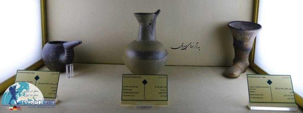 کوزههای سفالین موزه آبگینه
