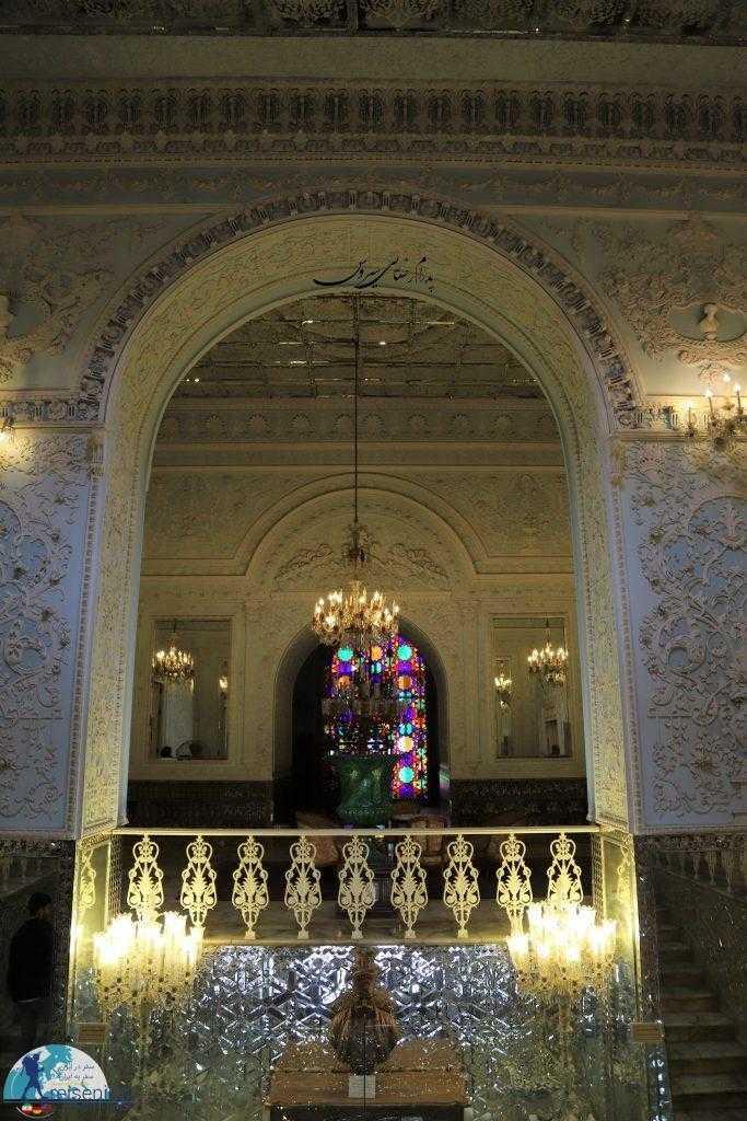 گچبری زیبای کاخ گلستان