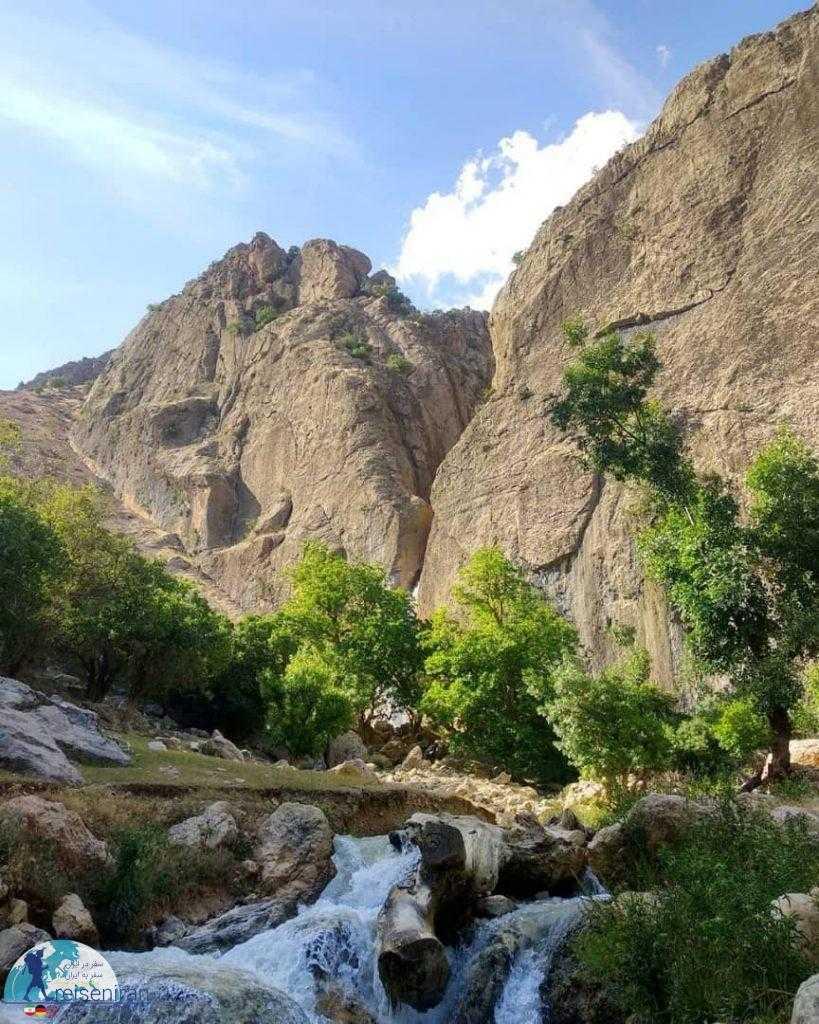 آبشار بورگان