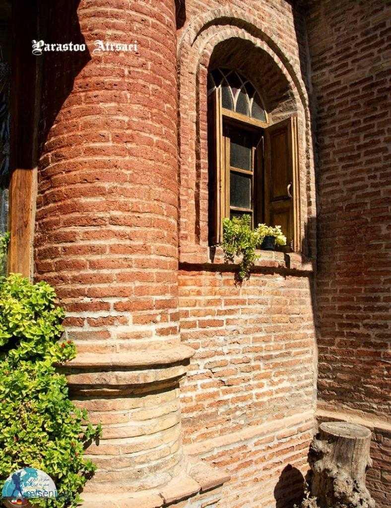 آجر سرخ کلیسا کانتور قزوین