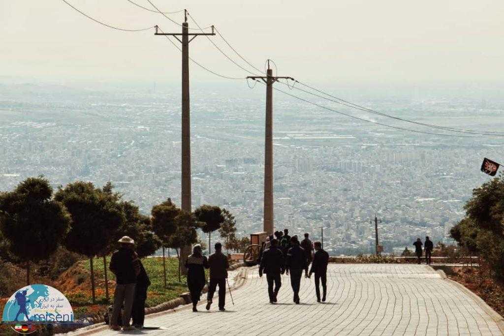 تفرجگاه عینالی تبریز