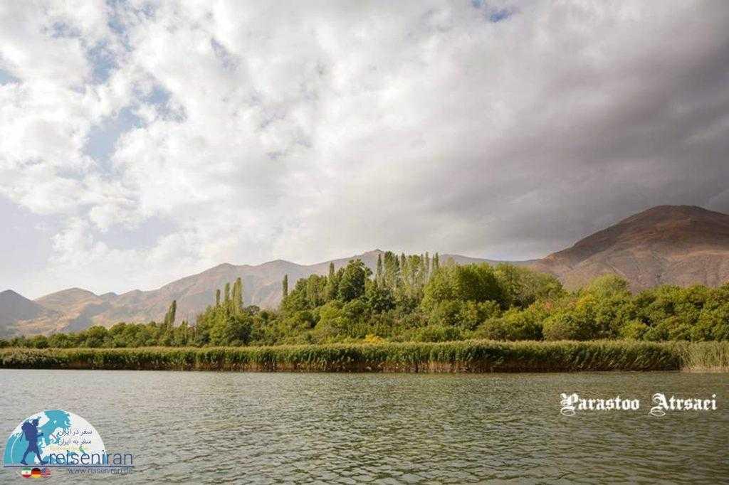 دریاچه زیبای اوان
