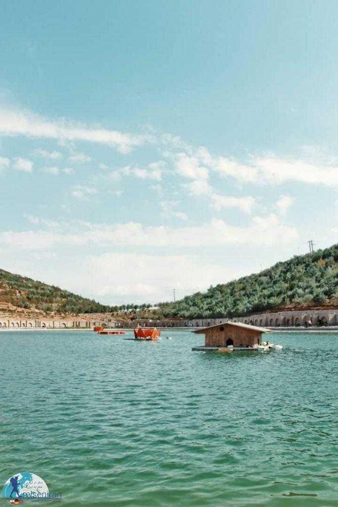 دریاچه عینالی تبریز