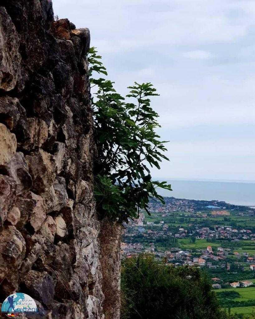دیواره قلعه مارکوه