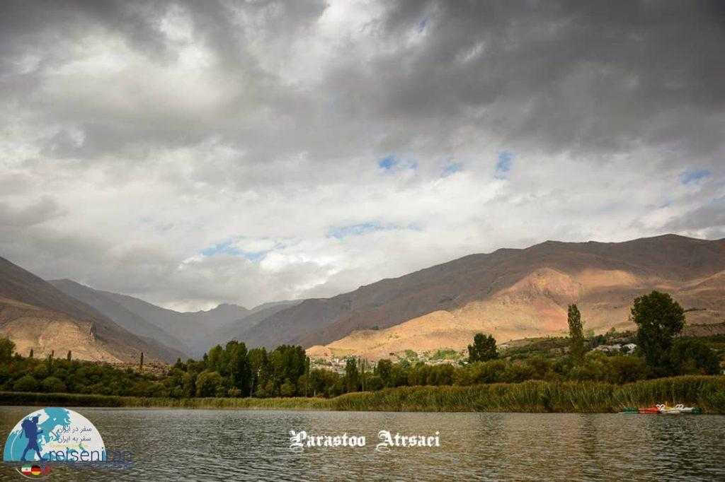 طبیعت دریاچه اوان