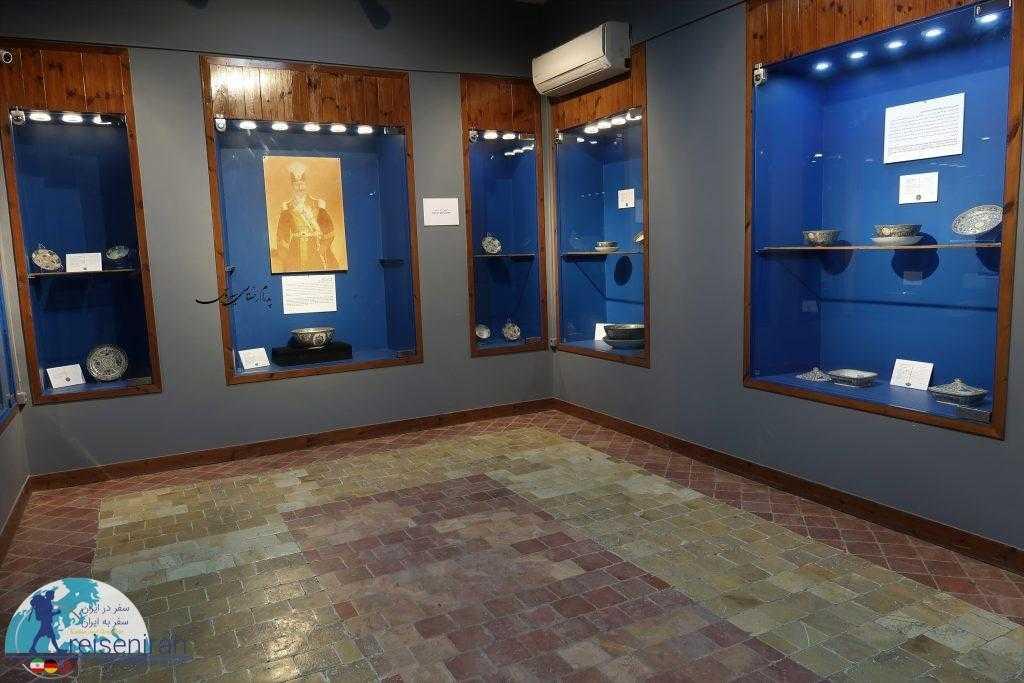 عکس نمایشگاه چینی های فرمایشی