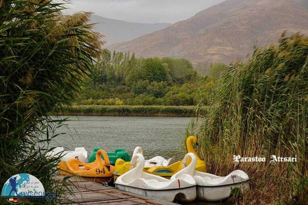 قایق های دریاچه اوان