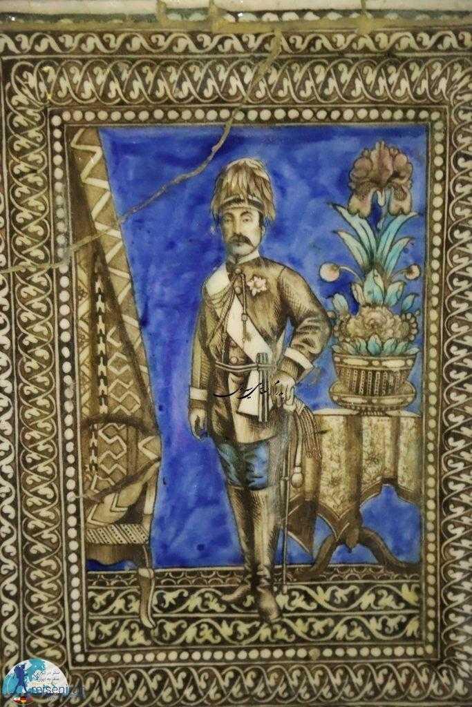 کاشی موزه مقدم