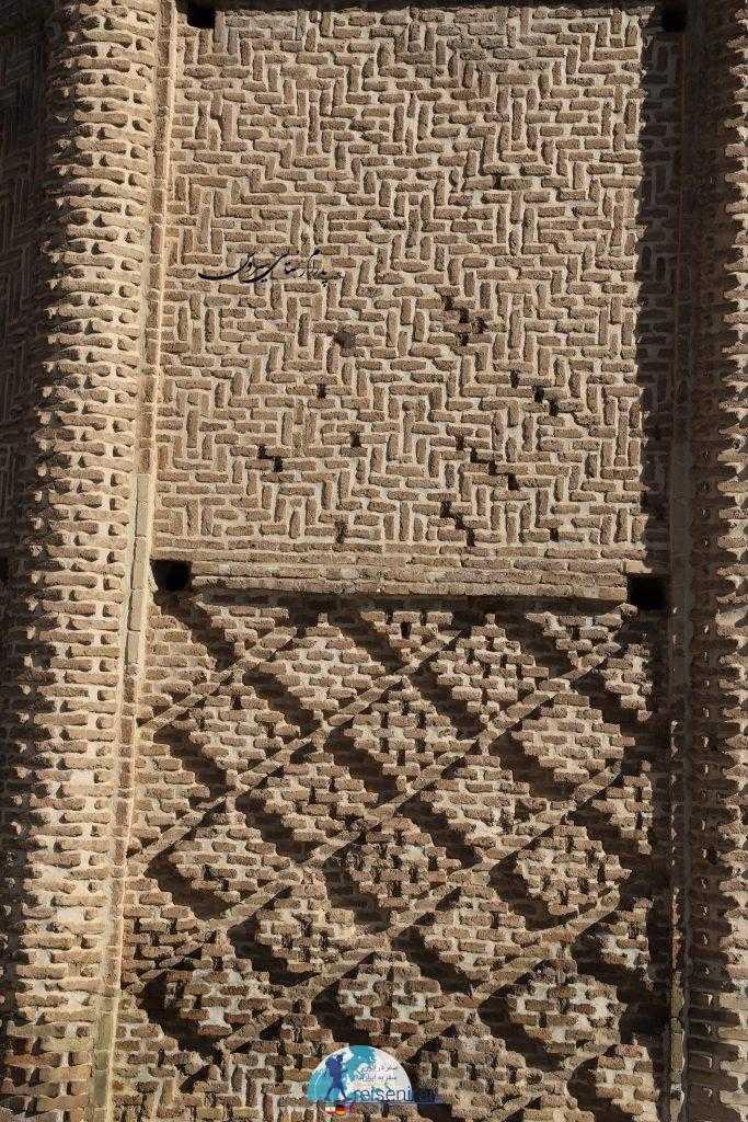 آجرچینی برج شبلی