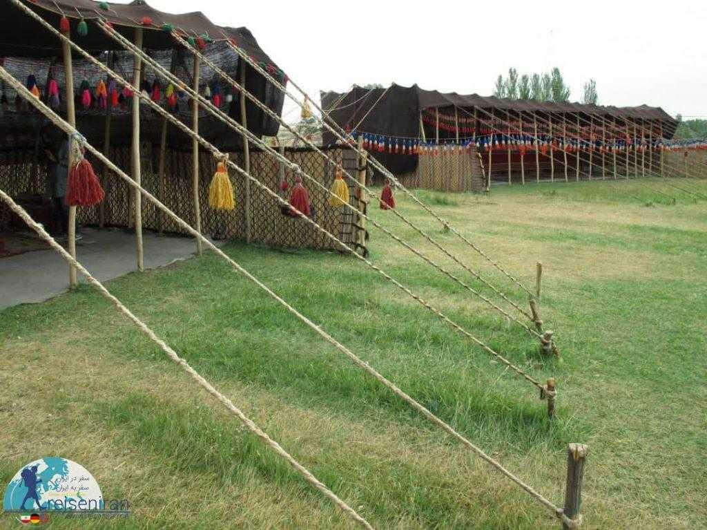 سیاه چادر قوم قشقایی