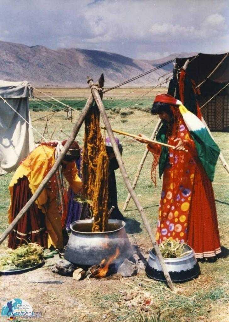 خانمان قوم قشقایی