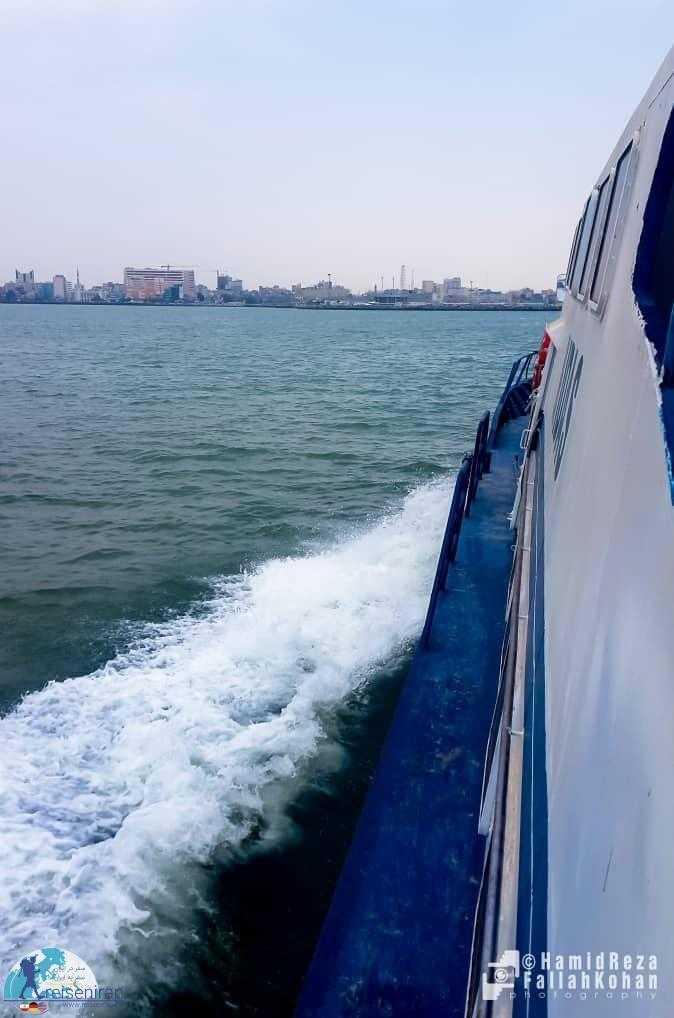 شهر بندرعباس از دریا