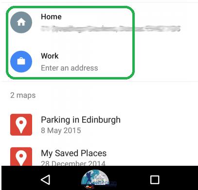 علامت گذاری روی نقشه گوگل مپ
