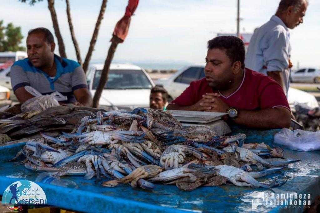 عکس بازار ماهی فروشان بندر عباس