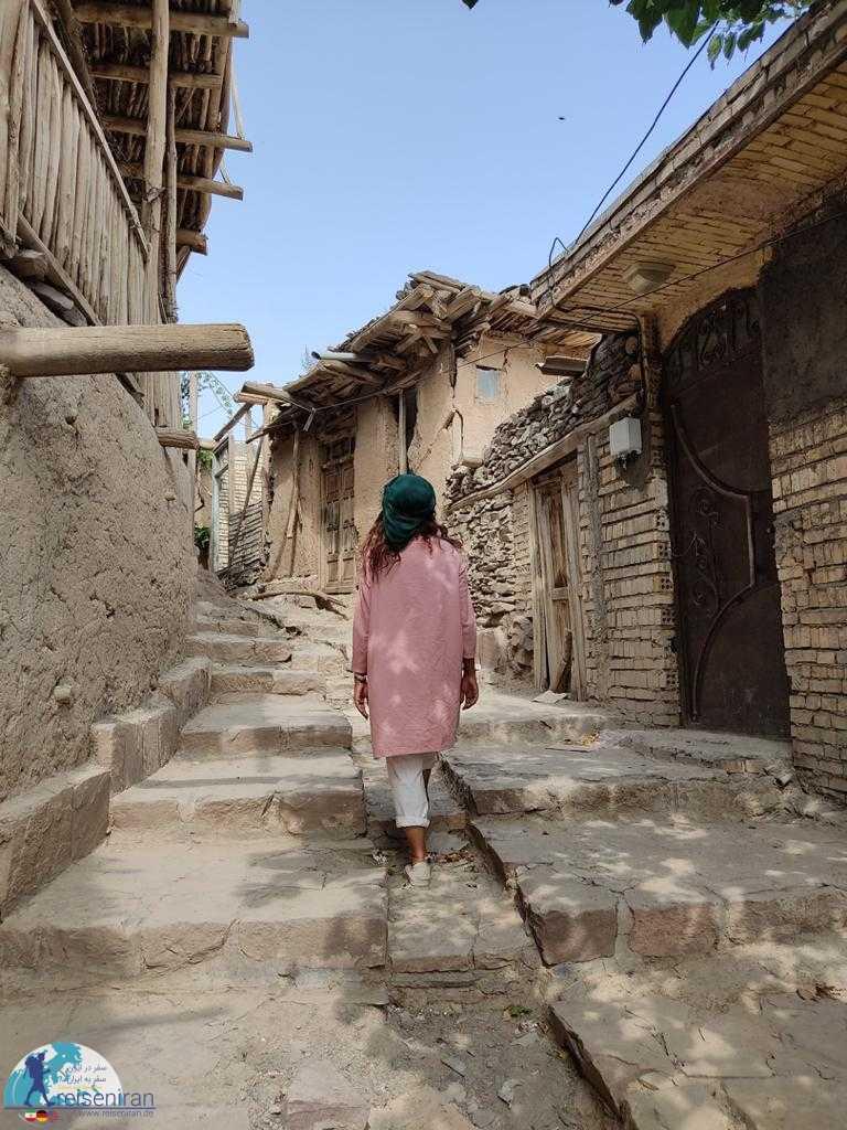 بازدید از روستای کنگ
