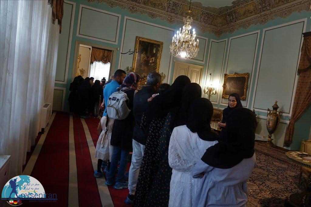 بازدید از کاخ مرمر رامسر