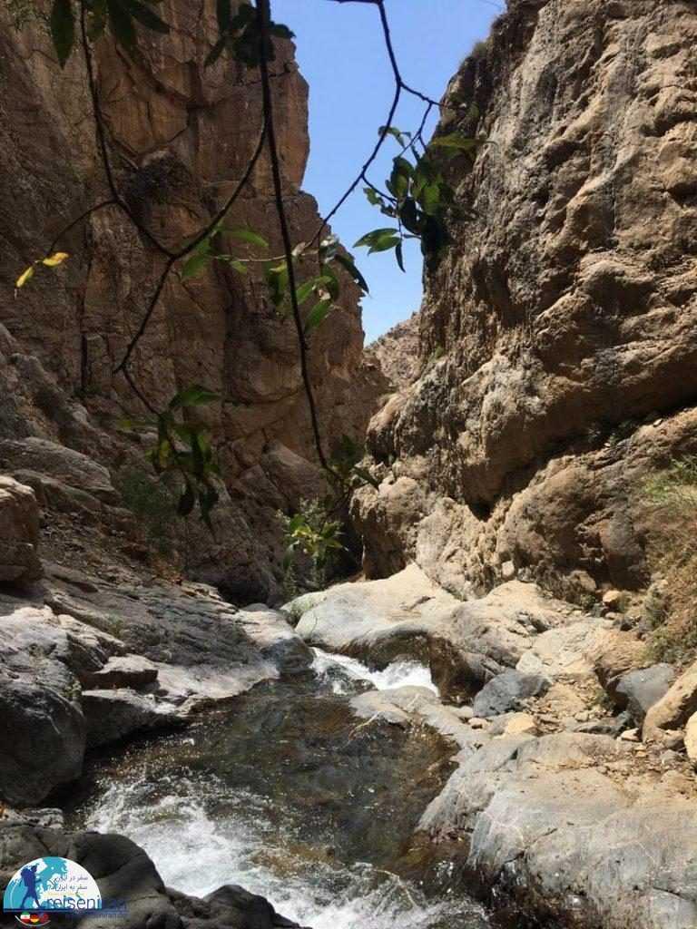 دره های آبشار بوژان