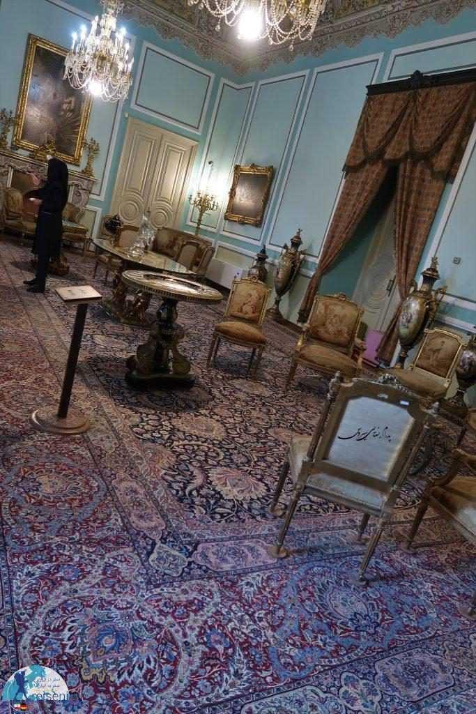سالن کاخ مرمر رامسر