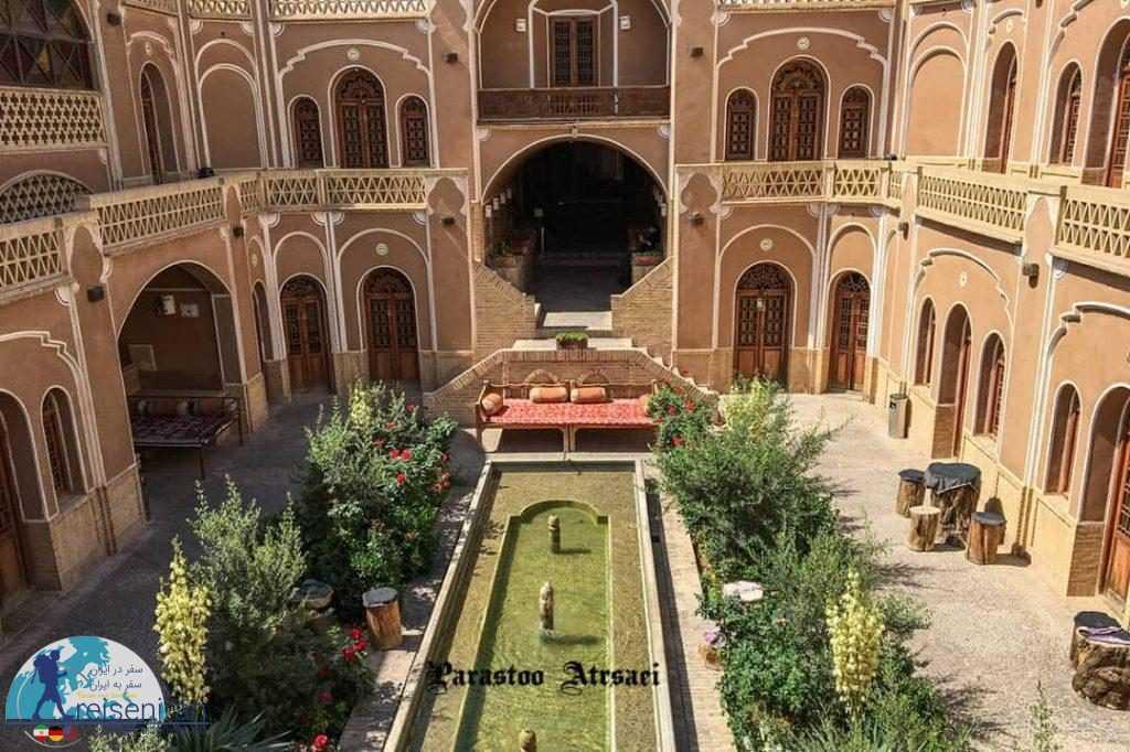عکس هتل کاروانسرای مشیر