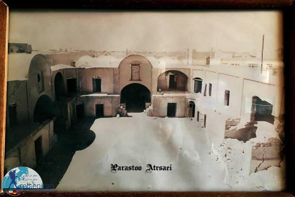 عکس کارونسرای مشیر یزد