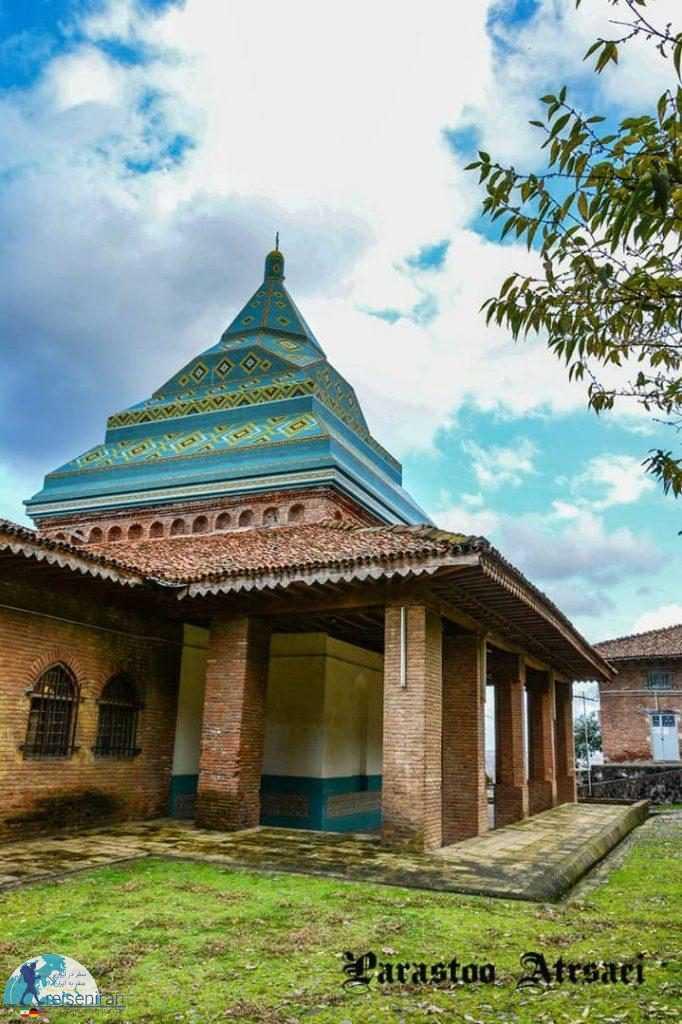 معماری آرامگاه شیخ زاهد گیلانی