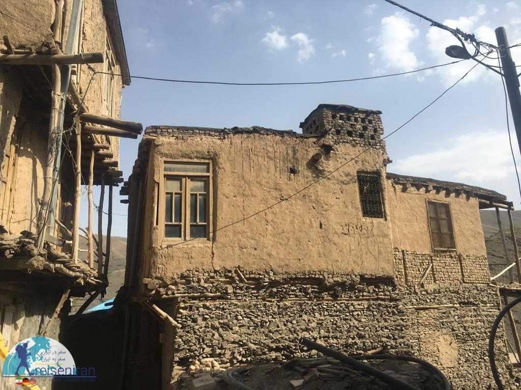 معماری روستا کنگ