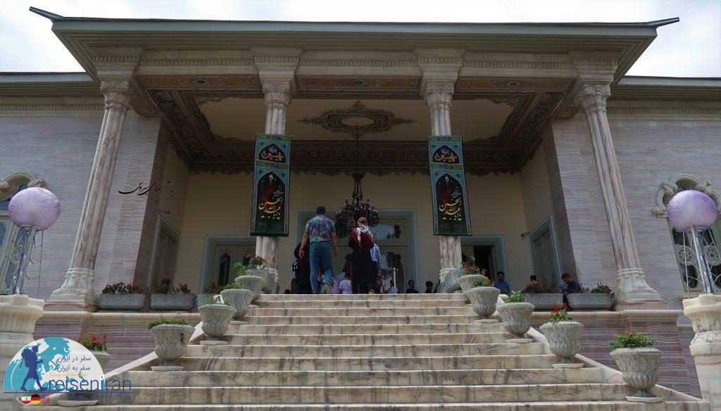 ورودی کاخ مرمر رامسر