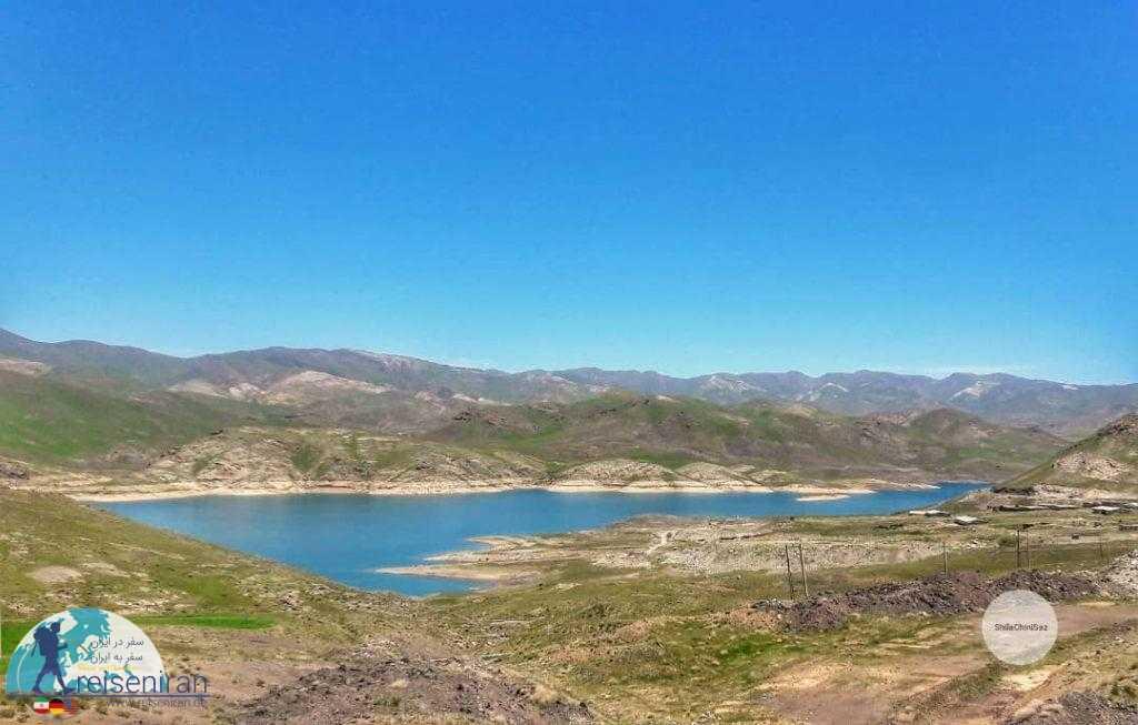 دریاچه سد تهم زنجان